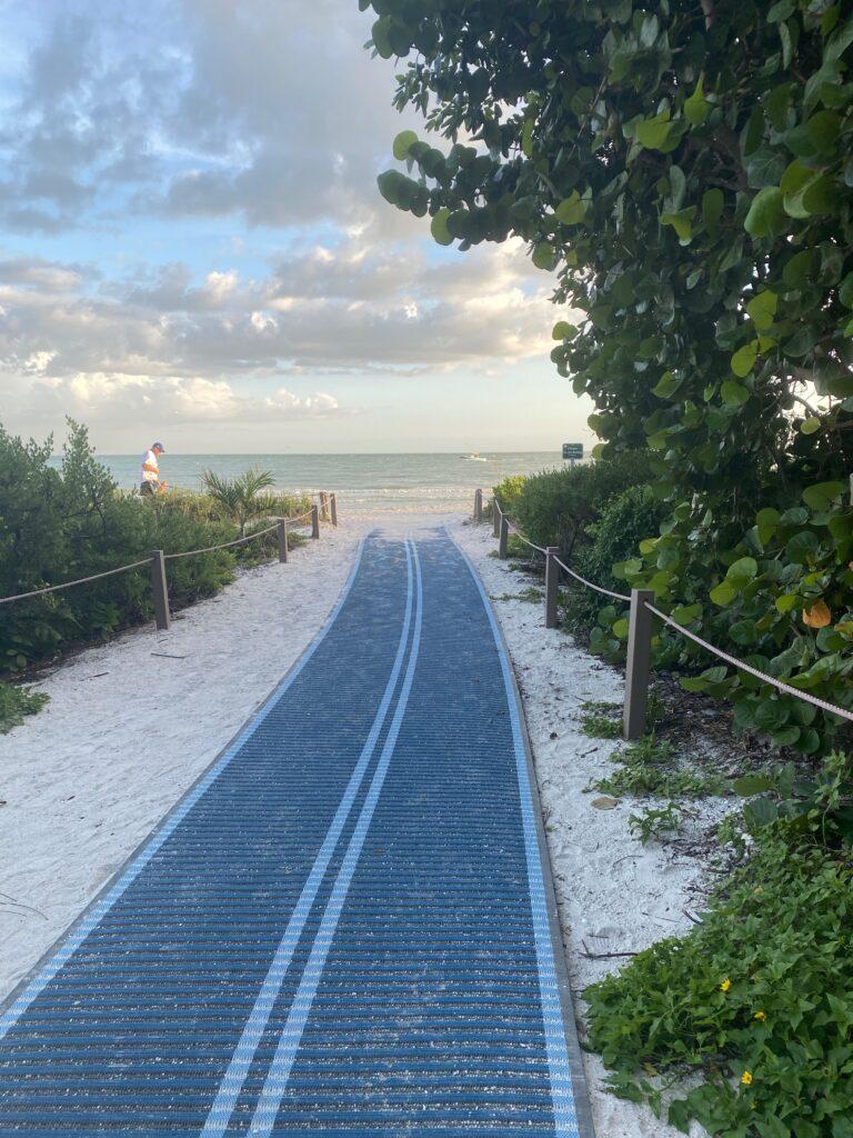 Sanibel Island Lighthouse Beach Walkway