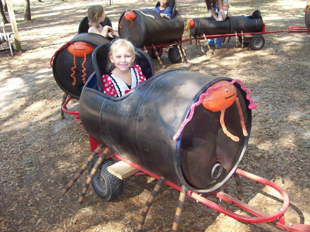 Spider Train at Santa's Farm