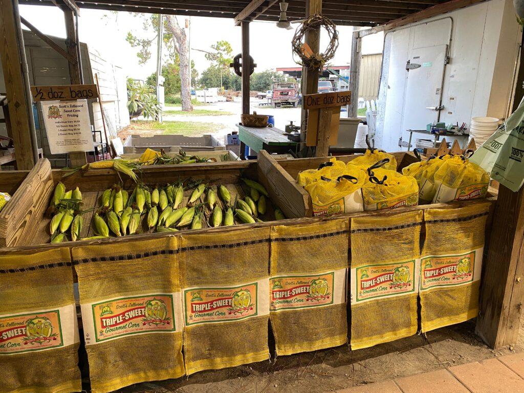 Long and Scott Farms triple sweet corn