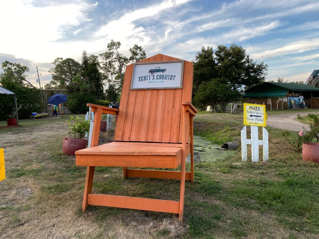 Long and Scott photo chair